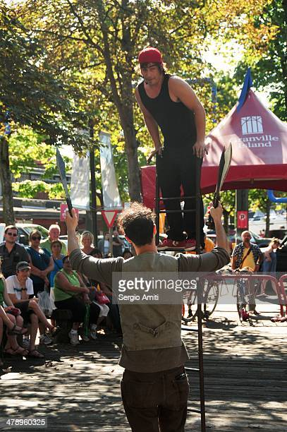 Juggler in Vancouver