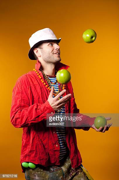 Juggler performance