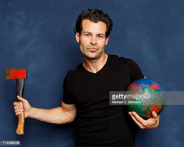 Juggler/comedian Ivan Pecel poses during his appearance at The Ice House Comedy Club on May 19 2011 in Pasadena California