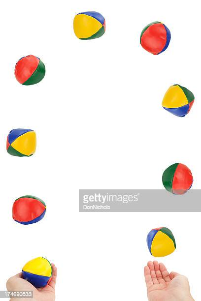 juggling overload - ball stock pictures, royalty-free photos & images