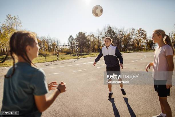 Juggling the soccer ball