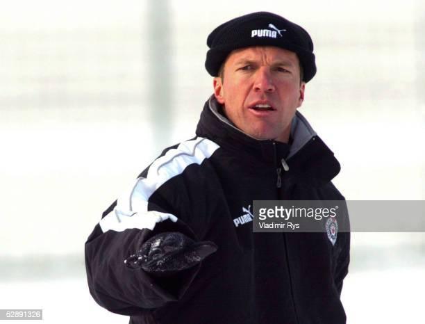 Jugoslawische Liga 02/03, Belgrad; FC PARTIZAN BELGRAD; TRAINER Lothar MATTHAEUS