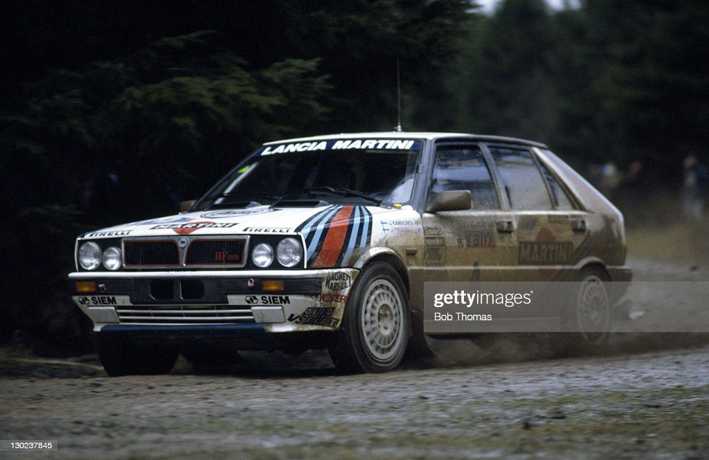 Juha Kankkunen - Lancia - RAC Rally : News Photo