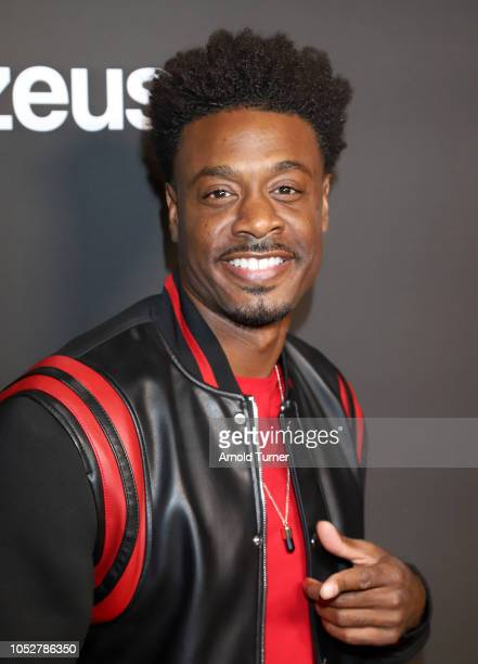Juhahn Jones attends the ZEUS New Series Premiere Party X CIROC Black Raspberry on October 19 2018 in Burbank California
