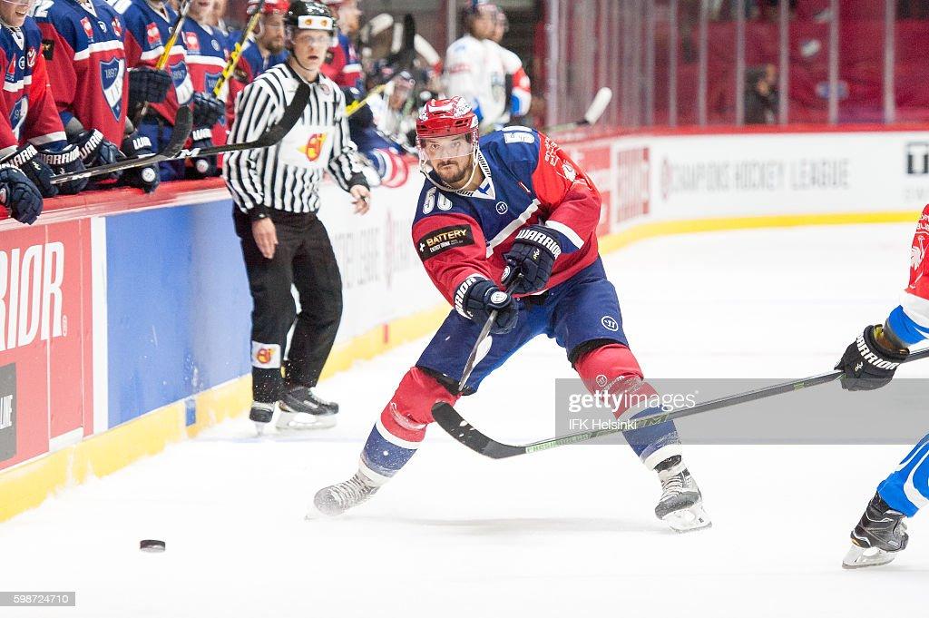 IFK Helsinki v EV Zug - Champions Hockey League : News Photo
