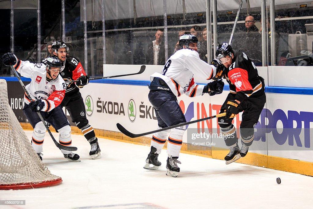 Karpat Oulu v HC Kosice - Champions Hockey League : News Photo