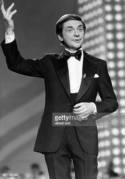 Juhnke Harald Schauspieler Entertainer D bei einem Auftritt 1979
