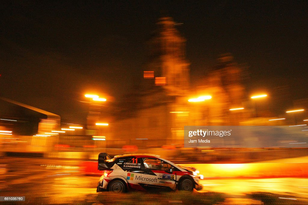 FIA World Rally Championship Mexico - Start And Super Special Stage in Mexico City