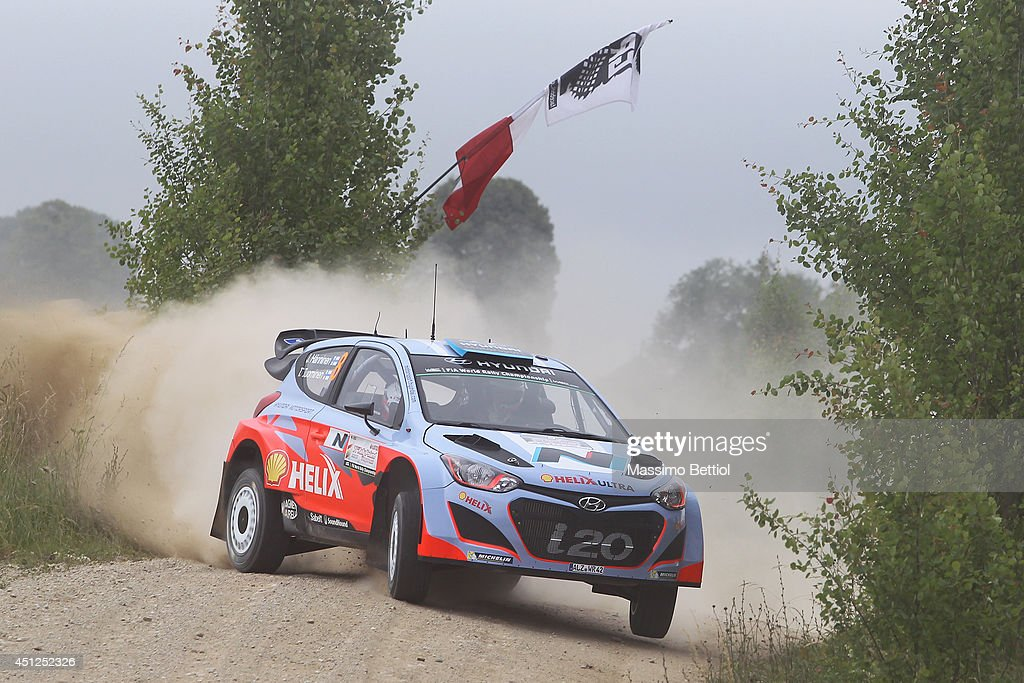 FIA World Rally Championship Poland - Shakedown