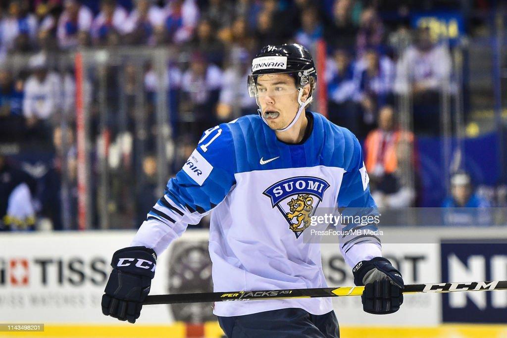 United States v Finland: Group A - 2019 IIHF Ice Hockey World Championship Slovakia : News Photo