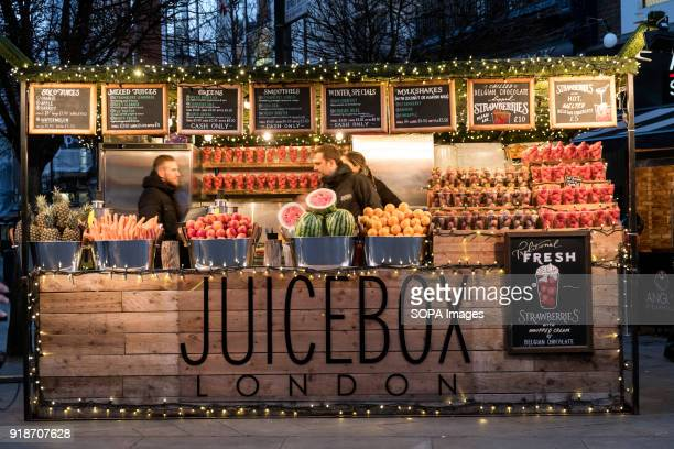 Juice Box store seen in London famous Oxford street Central London is one of the most attractive tourist attraction for individuals whose willing to...