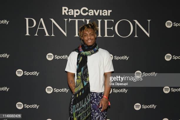 Juice WRLD attends Spotify's RapCaviar Pantheon at Brooklyn Museum on April 02 2019 in Brooklyn New York