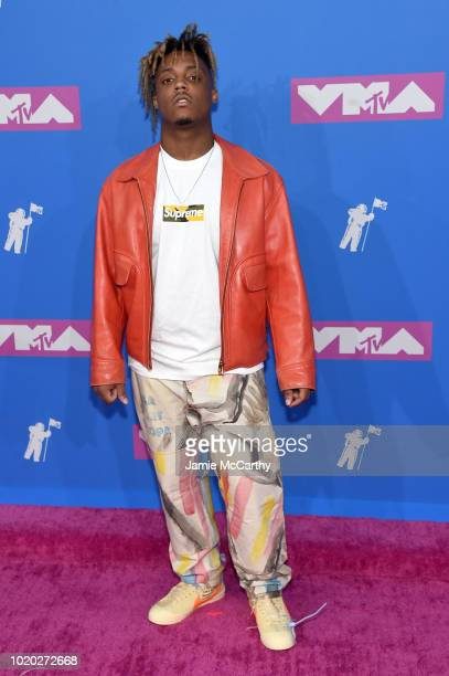 Juice Wrld attends the 2018 MTV Video Music Awards at Radio City Music Hall on August 20 2018 in New York City