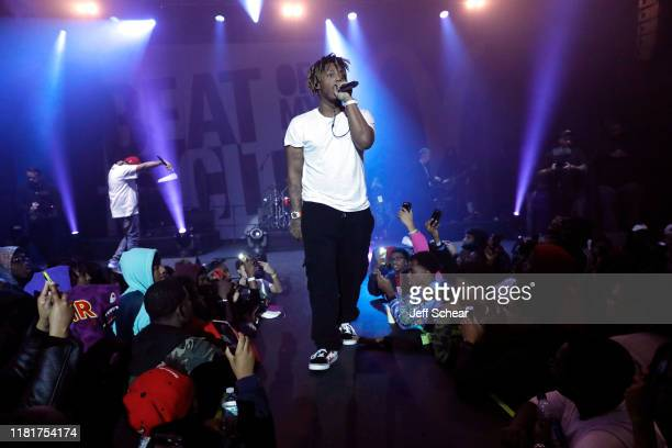 Juice WRLD performs during McDonald's Beat Of My City Chicago on October 17 2019 in Chicago Illinois