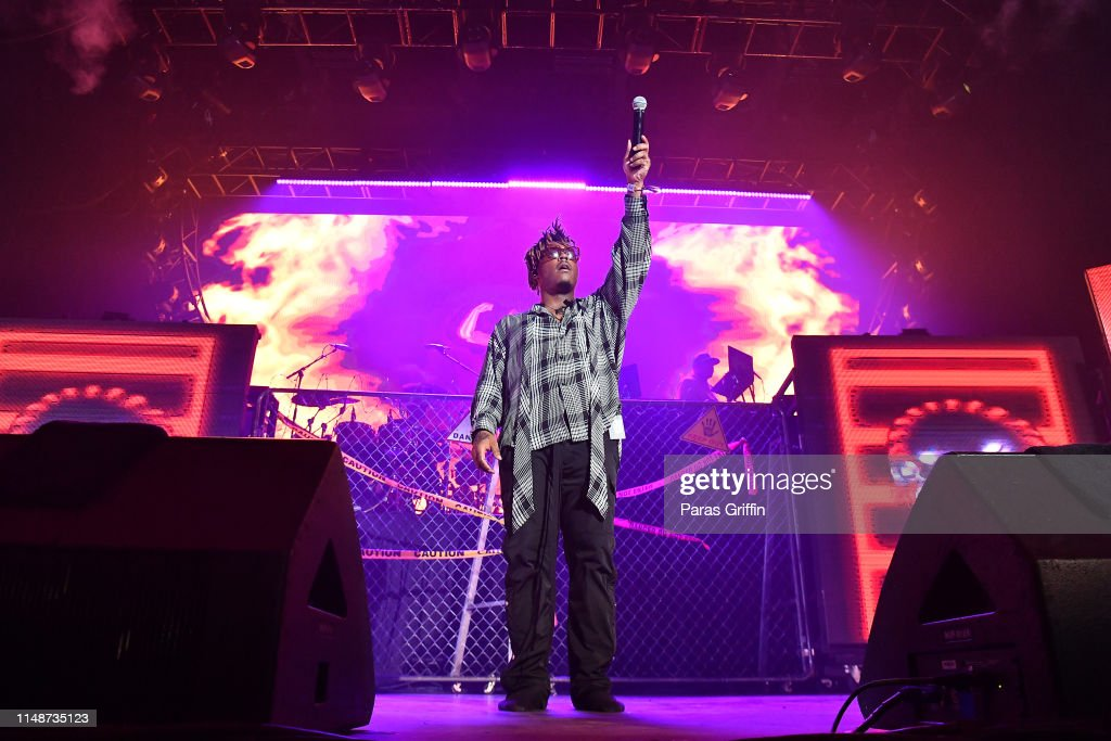 Juice WRLD performs in concert during