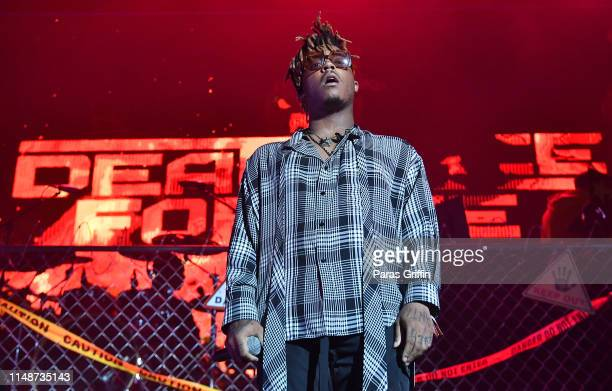 Juice WRLD performs in concert during Death Race For Love tour at CocaCola Roxy on May 12 2019 in Atlanta Georgia