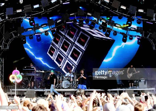 Juice WRLD performs on Which Stage during the 2019 Bonnaroo Arts And Music Festival on June 15 2019 in Manchester Tennessee