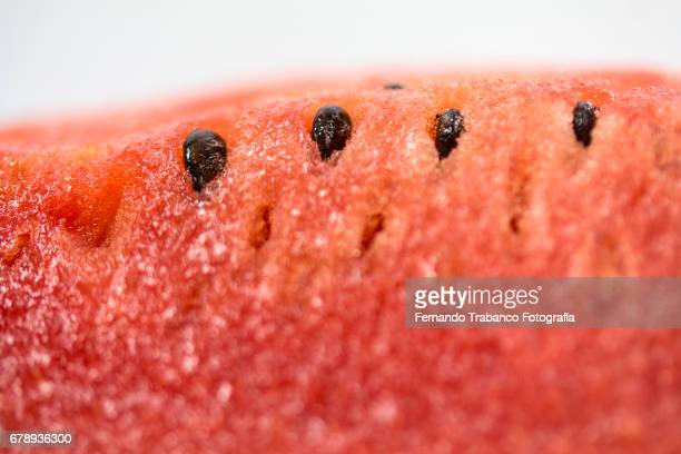 Juicy and tasty red watermelon with seeds
