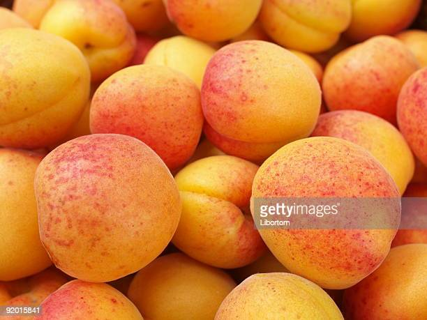 Juicy apricots, full of Vitamin C