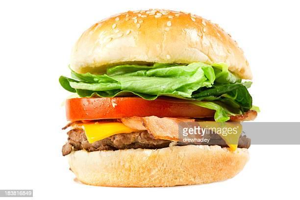 Juicy Cheese and Bacon Burger