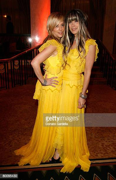 Juicy Couture's co-founders, co-presidents, co-designers Pamela Skaist-Levy and Gela Nash-Taylor attend the Saks Fifth Avenue's Unforgettable Evening...