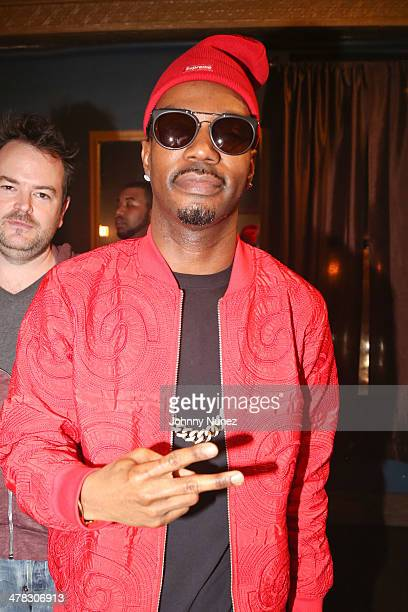 Juicy J attends Noisey Presents JuicyJ The Never Sober Tour at Irving Plaza on March 12 2014 in New York City