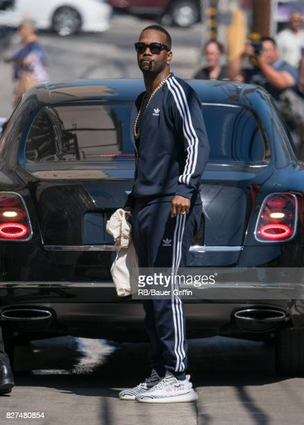 Juicy J is seen at 'Jimmy Kimmel Live' on August 07 2017 in Los Angeles California