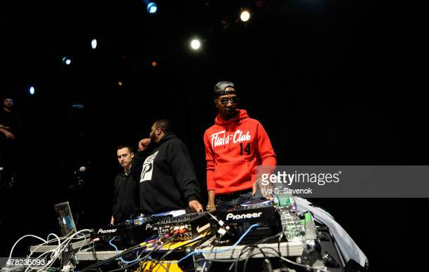 Juicy J performs during GRAMMY U SoundChecks With Juicy J at Irving Plaza on March 12 2014 in New York City