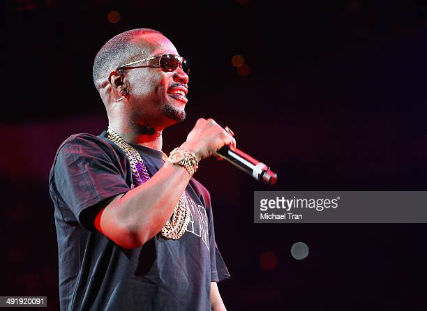 Juicy J performs onstage during the Power 106 FM Presents Powerhouse held at Honda Center on May 17 2014 in Anaheim California