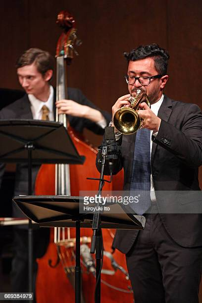 Juilliard Jazz Artist Diploma Ensemble performing in The Early Maters of Jazz Buddy Bolden Sidney Bechet and Louis Armstrong at Paul Hall on Tuesday...