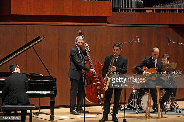 Juilliard Jazz Artist Diploma Ensemble performing the music of Charles Mingus and Dave Brubeck at Paul Hall of the Juilliard School on Tuesday night,...