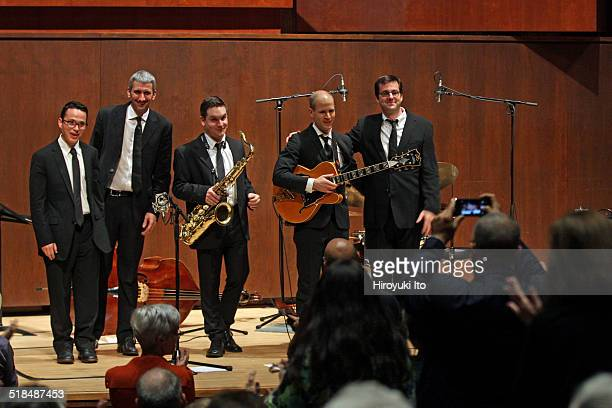 Juilliard Jazz Artist Diploma Ensemble performing the music of Charles Mingus and Dave Brubeck at Paul Hall of the Juilliard School on Tuesday night...