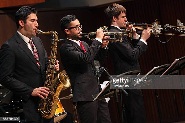 Juilliard Jazz Artist Diploma Ensemble performing The Music of Chick Corea Herbie Hancock Wayne Shorter and Joe Henderson at Paul Hall on Tuesday...