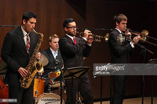 Juilliard Jazz Artist Diploma Ensemble performing The Music of Chick Corea Herbie Hancock Wayne Shorter and Joe Henderson at Paul Hall on Tuesday...