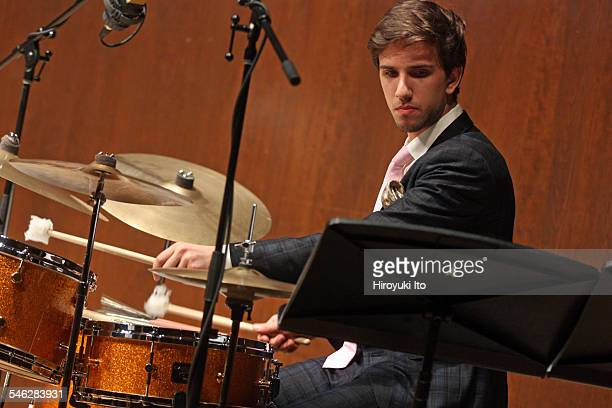 Juilliard Jazz Ensemble performing the music of John Kirby at Paul Hall on March 30, 2015.This image:Evan Sherman.