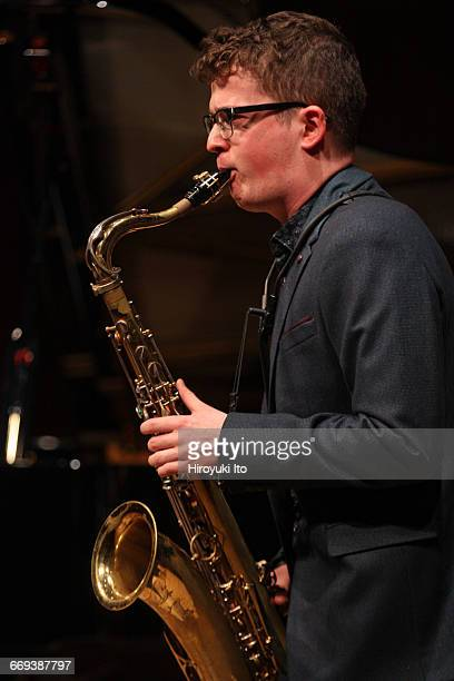 """Juilliard Jazz Ensemble presents """"What We Hear: Student Compositions"""" at Paul Hall on Tuesday night, April 12, 2016. They are coached by the..."""