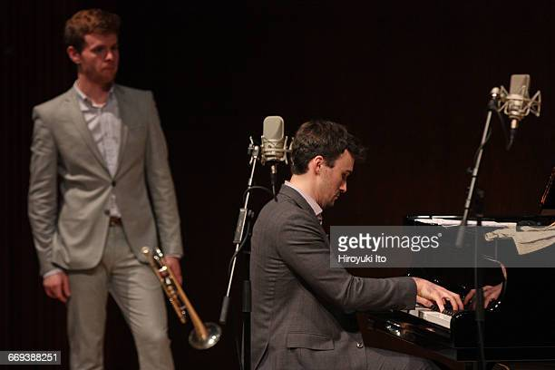 Juilliard Jazz Ensemble presents What We Hear Student Compositions at Paul Hall on Tuesday night April 12 2016 They are coached by the trumpeter Dave...