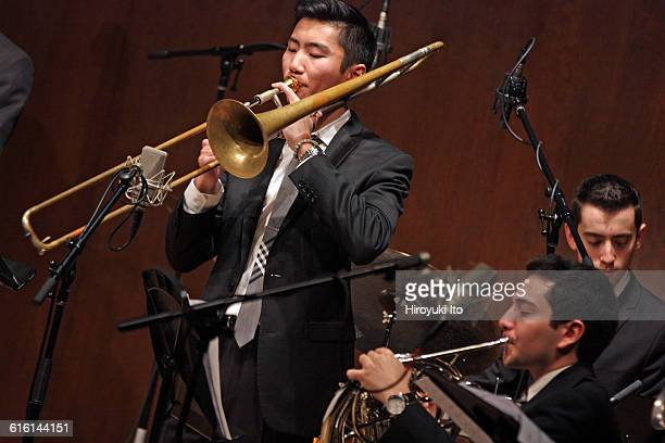 Juilliard Jazz Ensembles performing The Birth of Cool Miles Davis and Gerry Mulligan at Paul Hall on Tuesday night February 2 2016This imageNick Lee...