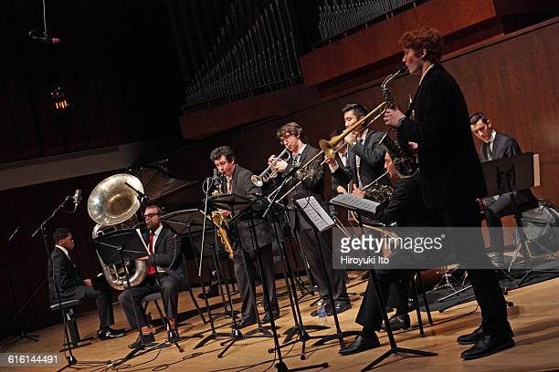 Juilliard Jazz Ensembles performing The Birth of Cool Miles Davis and Gerry Mulligan at Paul Hall on Tuesday night February 2 2016