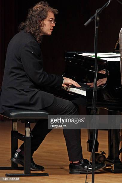 Juilliard Jazz Ensembles performing The Birth of Cool Miles Davis and Gerry Mulligan at Paul Hall on Tuesday night February 2 2016This imageBenjamin...