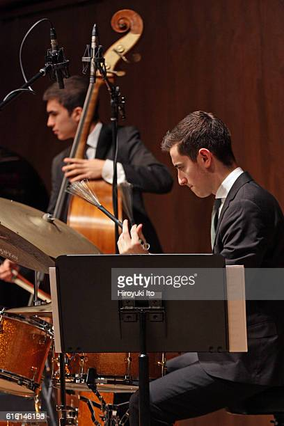 Juilliard Jazz Ensembles performing The Birth of Cool Miles Davis and Gerry Mulligan at Paul Hall on Tuesday night February 2 2016This imageSebastian...