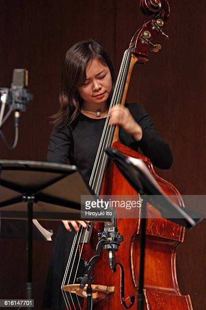 Juilliard Jazz Ensembles performing The Birth of Cool Miles Davis and Gerry Mulligan at Paul Hall on Tuesday night February 2 2016This imageKanoa...