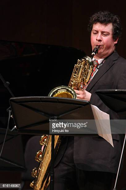 Juilliard Jazz Ensembles performing The Birth of Cool Miles Davis and Gerry Mulligan at Paul Hall on Tuesday night February 2 2016This...