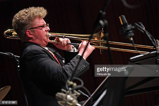 Juilliard Jazz Ensembles performing The Birth of Cool Miles Davis and Gerry Mulligan at Paul Hall on Tuesday night February 2 2016This imageSamuel...