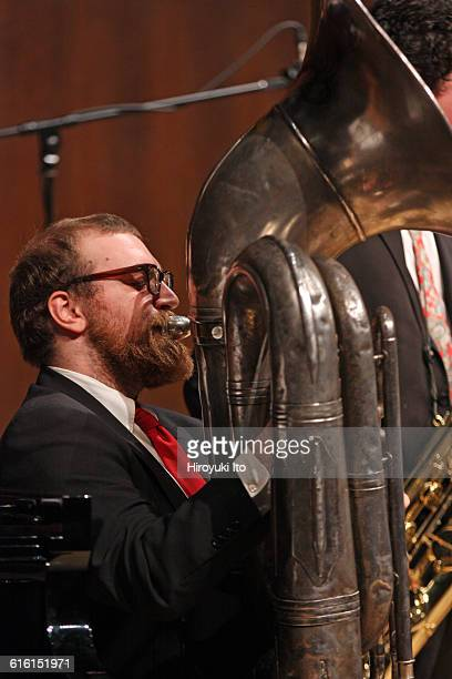 Juilliard Jazz Ensembles performing The Birth of Cool Miles Davis and Gerry Mulligan at Paul Hall on Tuesday night February 2 2016This imageWill...