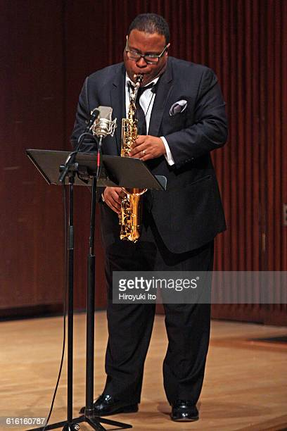 Juilliard Jazz Ensembles performing The Birth of Cool Miles Davis and Gerry Mulligan at Paul Hall on Tuesday night February 2 2016This imageBruce...