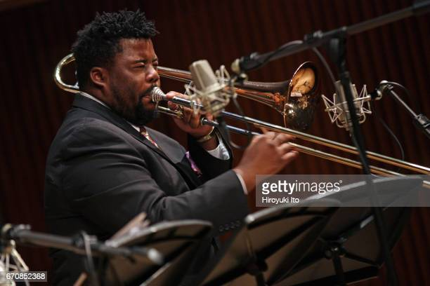 Juilliard Jazz Ensembles performing The Latin Tinge Ray Barretto Cal Tjader and Carlos Henriquez at Paul Hall on Tuesday night December 6 2016 This...