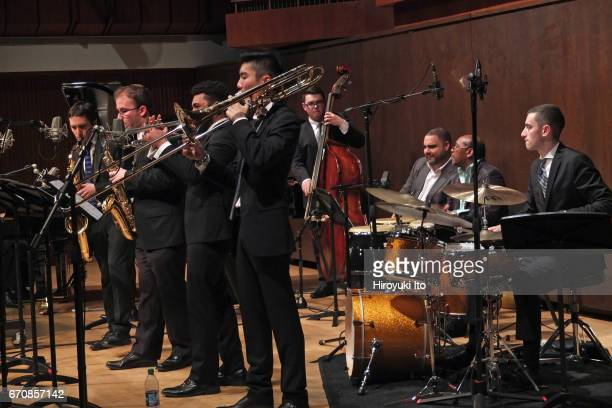 Juilliard Jazz Ensembles performing The Latin Tinge Ray Barretto Cal Tjader and Carlos Henriquez at Paul Hall on Tuesday night December 6 2016