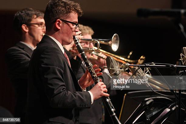 Juilliard Jazz Ensembles performing the music of Jelly Roll Morton and King Oliver at Paul Hall on Monday night April 13 2015This imageRuaridh...