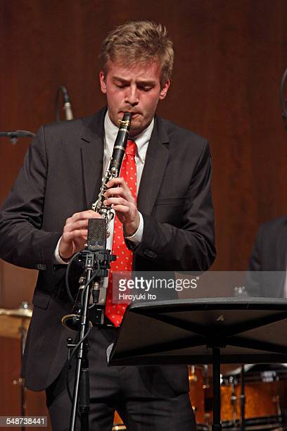 Juilliard Jazz Ensembles performing the music of Jelly Roll Morton and King Oliver at Paul Hall on Monday night April 13 2015This imageJulian Lee
